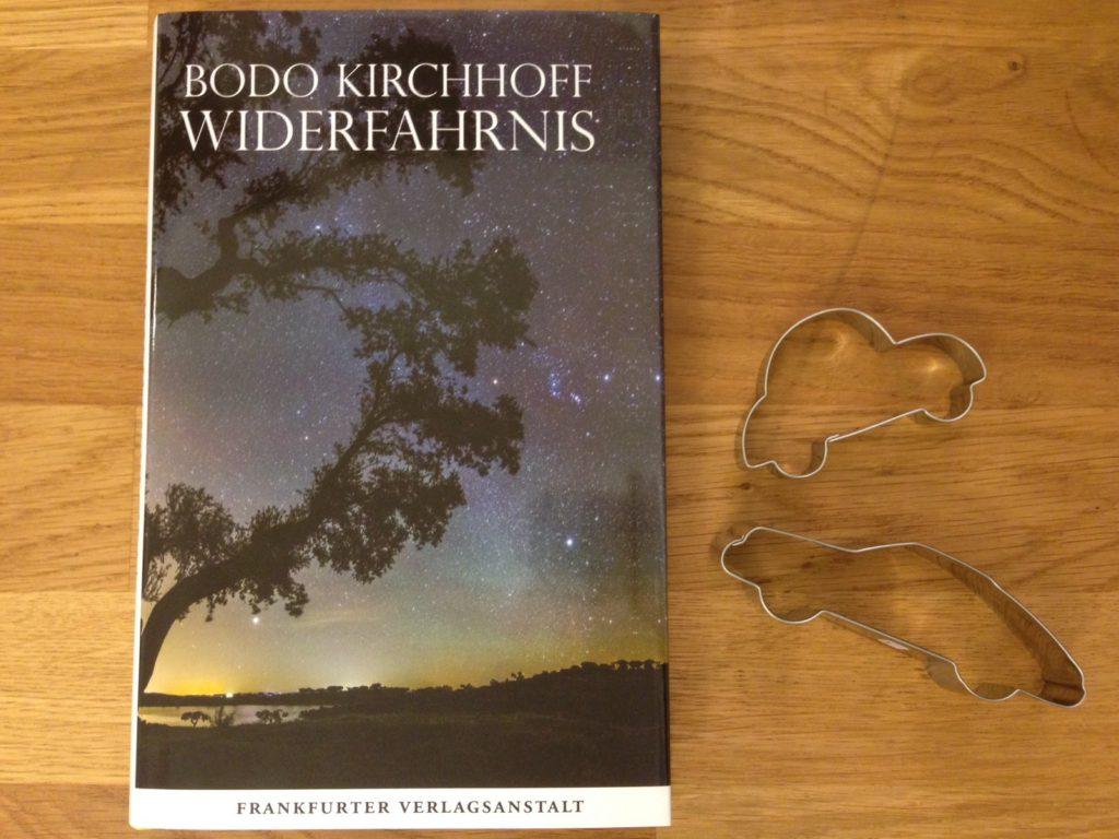 buchcover widerfahrnis von bodo kirchhoff