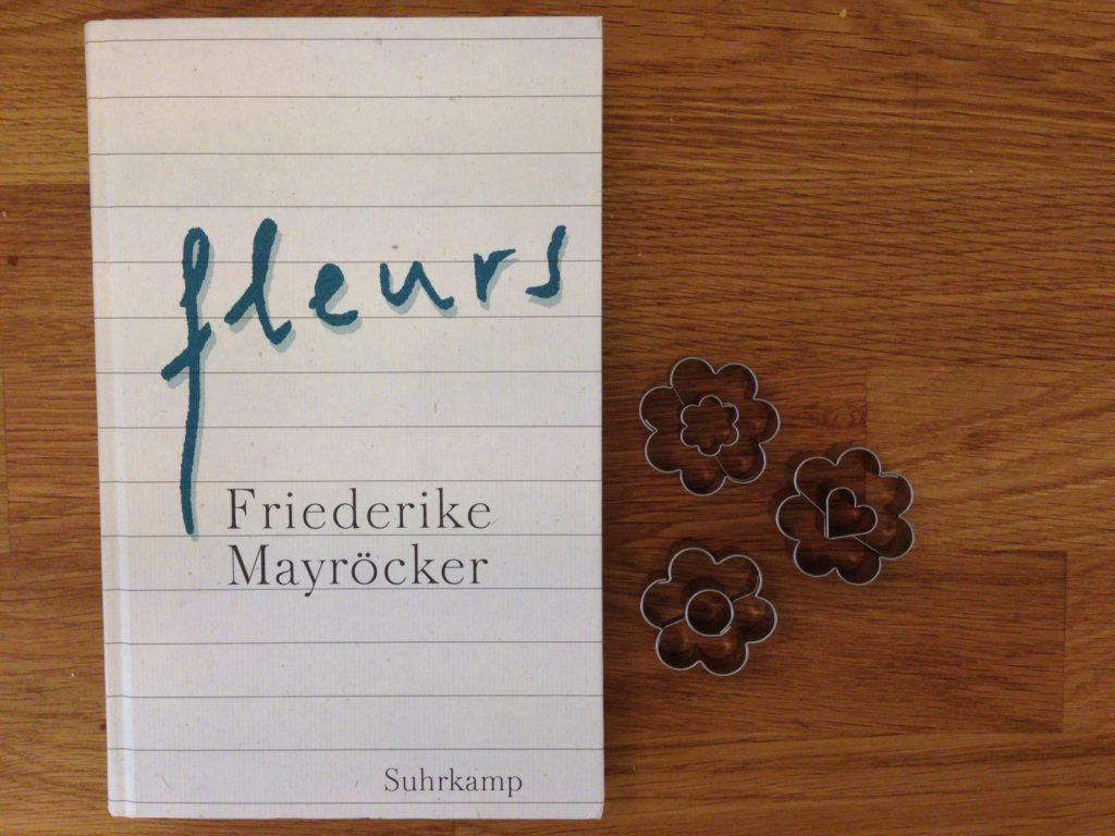 buchcover fleurs von friederike mayröcker