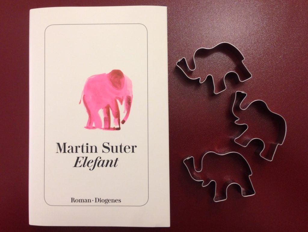 buchcover elefant von martin suter