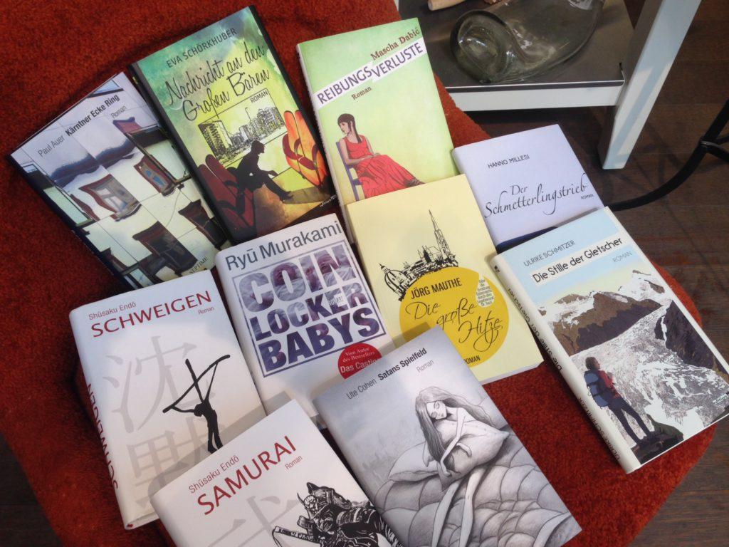 foto buchauswahl thema kritische literaturtage 2017