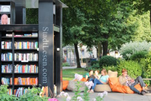 StadtLesen 2017 – Lesefestival unter freiem Himmel