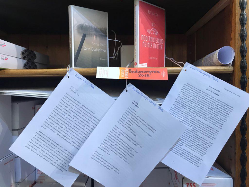 foto texte und bücher von preisträgerinnen des bachmannpreises 2018