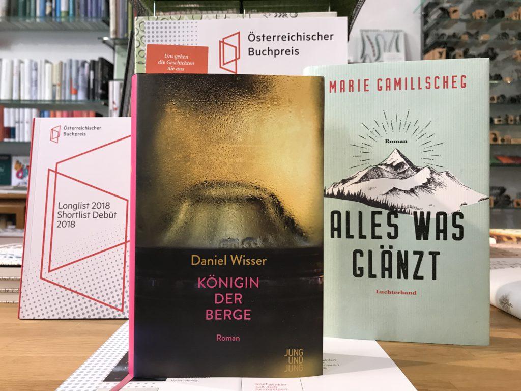 buchcover gewinnerinnen österreichischer buchpreis und debut 2018
