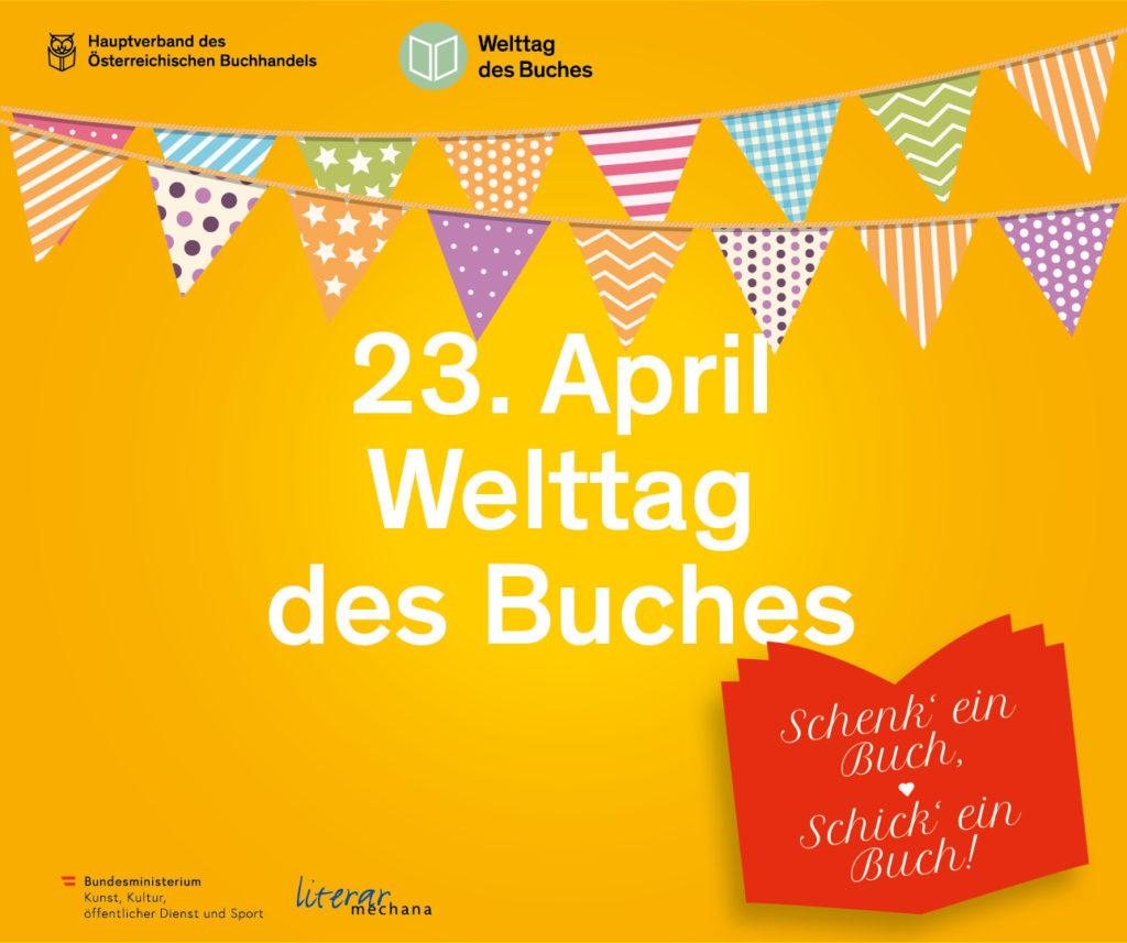 23. April – Welttag des Buches 2020: Mal anders, aber trotzdem gemeinsam feiern!
