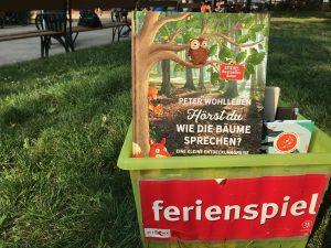 """""""Lesen im Park"""" begeistert den Lesenachwuchs"""