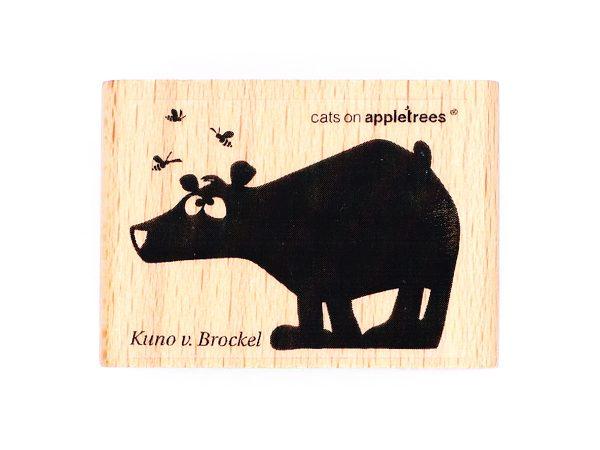 Bär Kuno von Brockel – Stempel