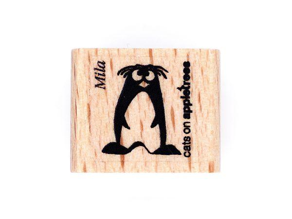 Pinguin Mila – Stempel