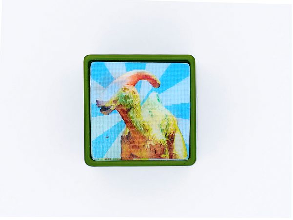 Dinosaurier T-Rex-World blau – Stempel