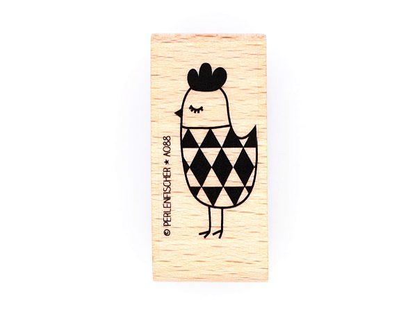 Huhn mit Rautenkörper