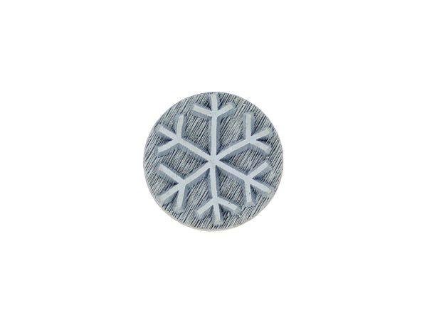 Schneeflocke oder Eisblume 6-zackig – Stempel