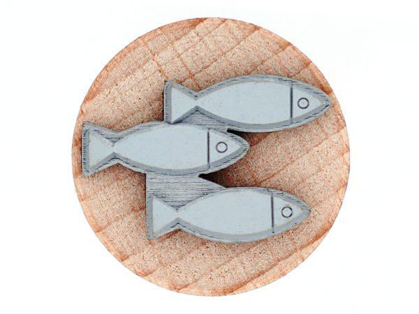 Fischschwarm – Stempel