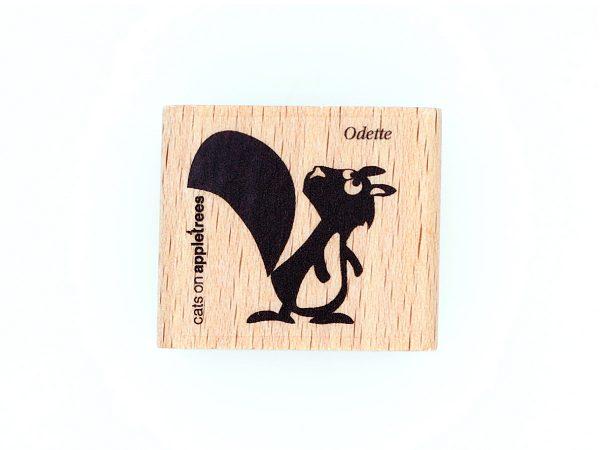 Eichhörnchen Odette – Stempel
