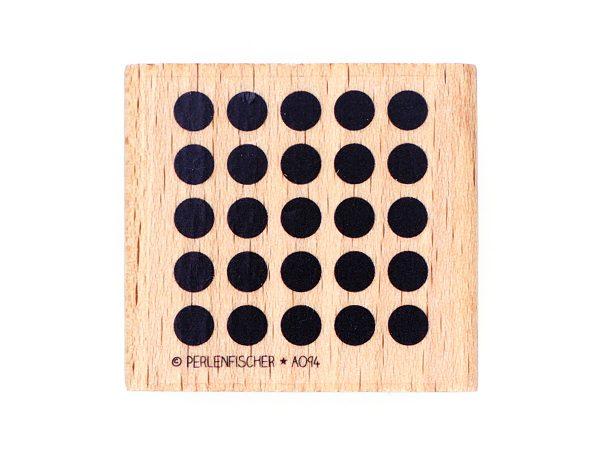 Punkteraster quadratisch – Stempel