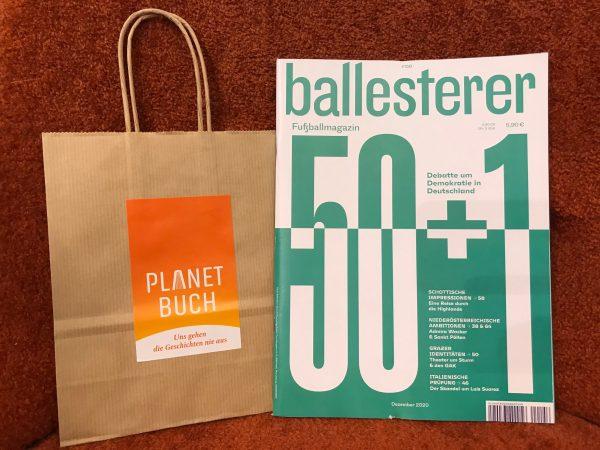ballesterer - Fußballmagazin No. 156/2020