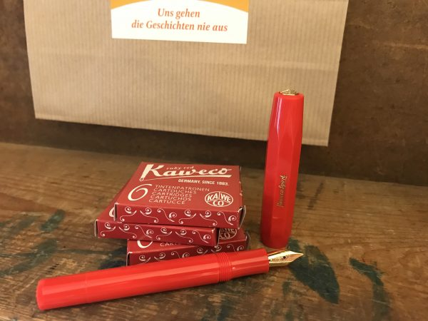 "Kaweco Füllhalter Classic Sport ""Red"""