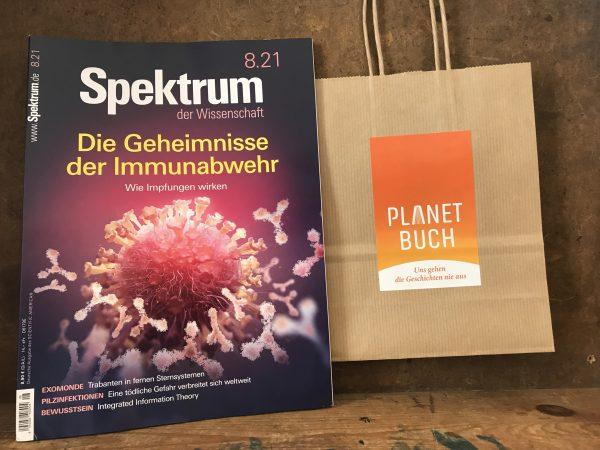 Spektrum der Wissenschaft 8/2021