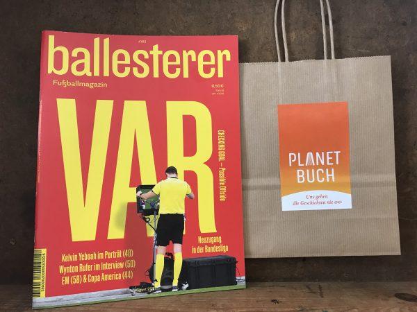 ballesterer – Fußballmagazin No. 162/2021