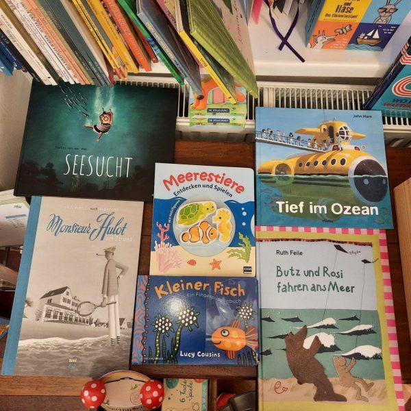 Kinderbücher voller Meer