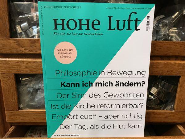 HOHE LUFT – Philosophie-Zeitschrift 6/2021