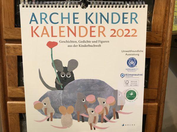 Arche Kinder Kalender 2022