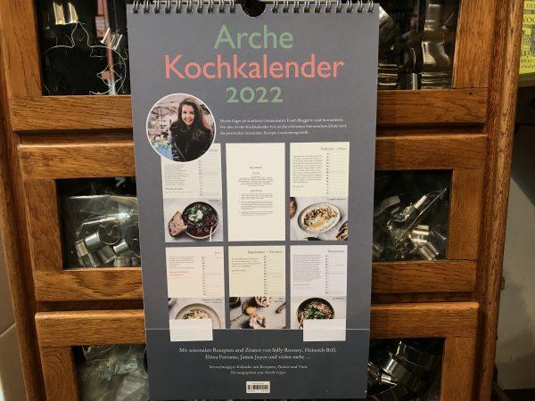 Arche Kochkalender 2022