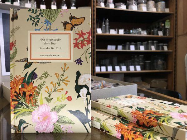 Insel-Bücherei Buch Kalender 2022