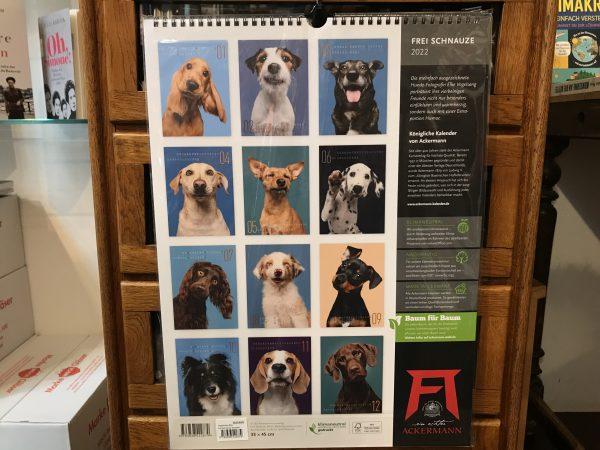 Ackermanns Frei Schnauze Hunde Kalender 2022