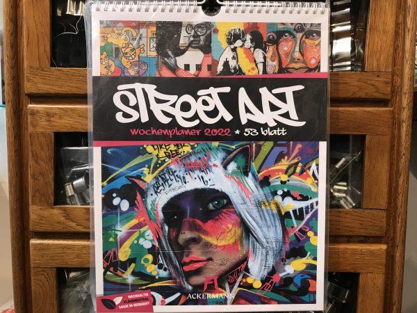 Ackermanns Street Art Wochenplaner 2022