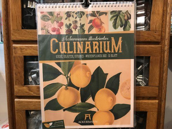 Ackermanns illustriertes Culinarium Kalender 2022