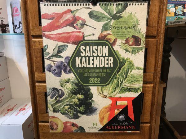 Ackermanns Saisonkalender 2022
