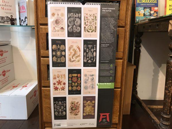 Ackermanns Kunst-Formen der Natur Kalender 2022