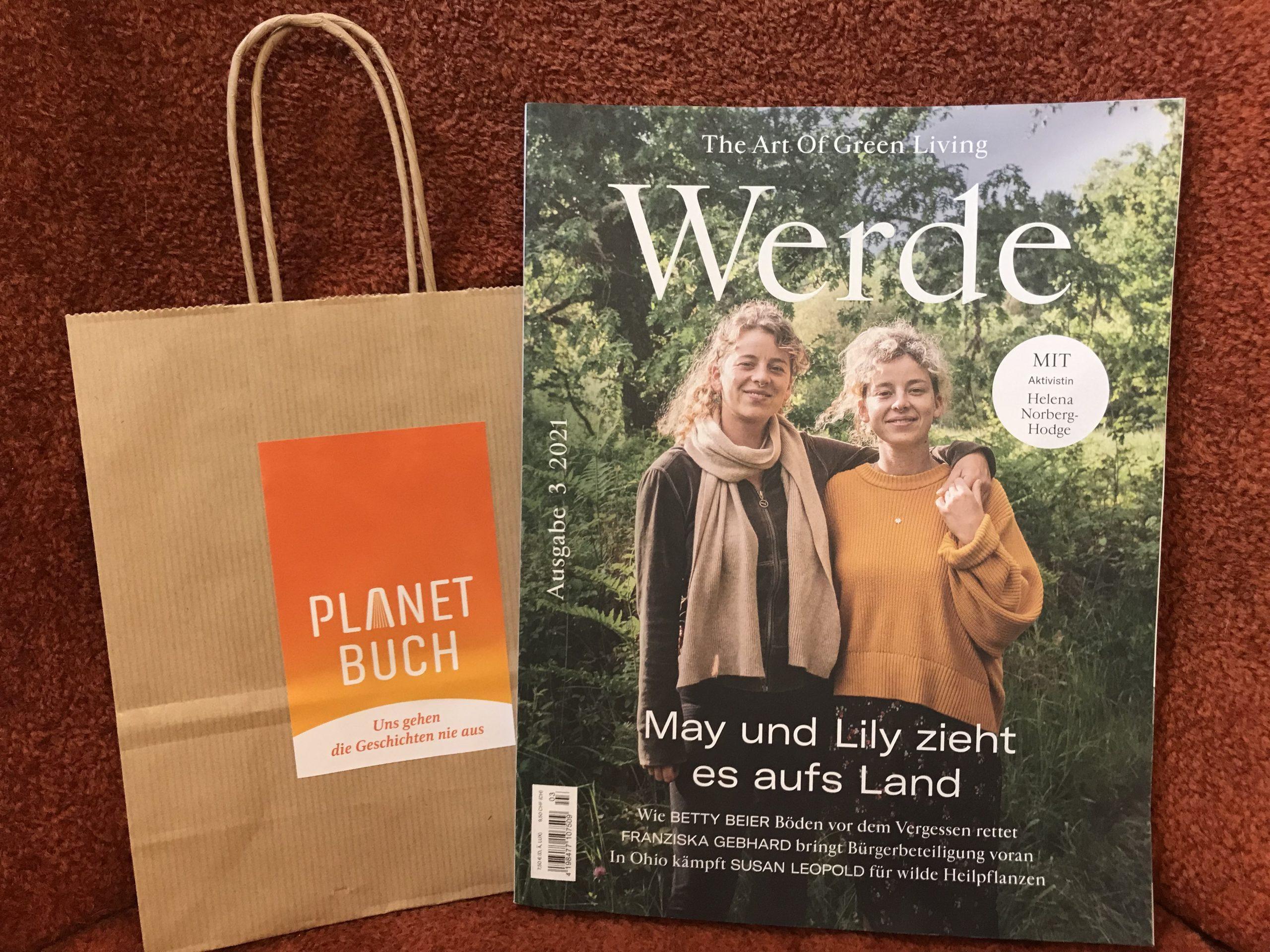 """""""Werde – The Art Of Green Living"""" neu bei Planet Buch"""