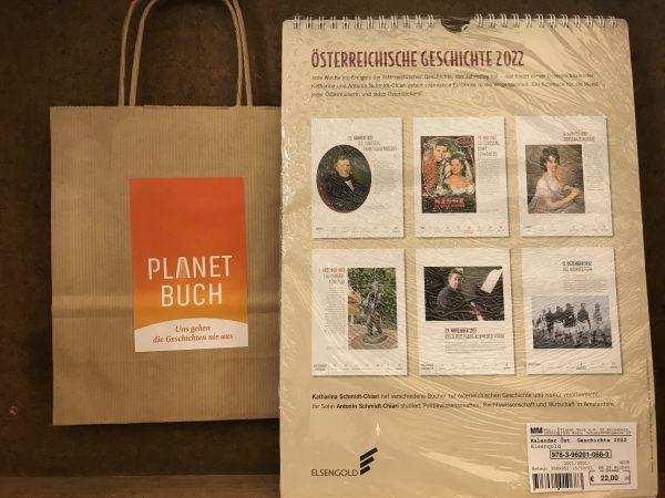 Elsengold Österreichische Geschichte Kalender 2022