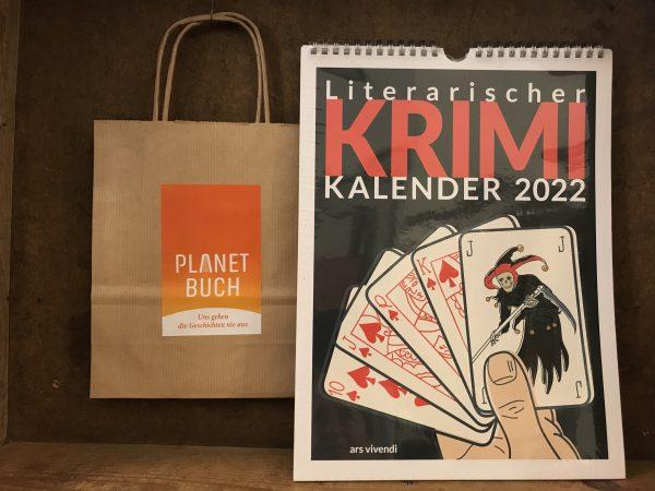 Literarischer Krimi Kalender 2022